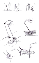 hand rail and light study